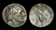 Ancient Coins - EGYPT. Ptolemy II Philadelphos, 285-246 BC. AR Tetradrachm (14.22g) of Ioppe (Jaffa).