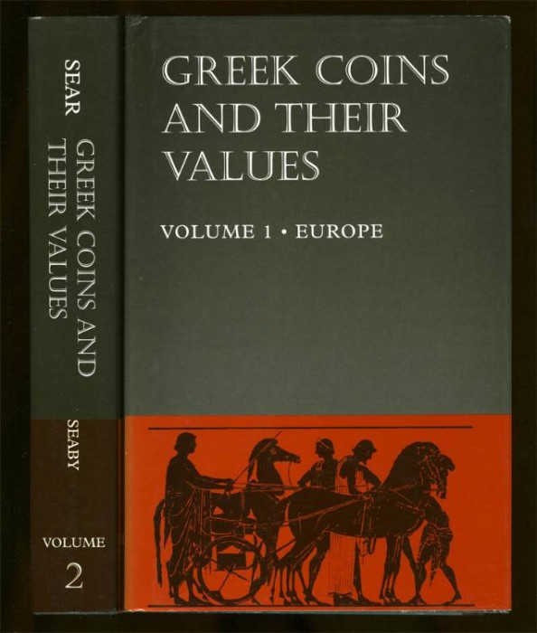 Ancient Coins - Sear, David R. Greek Coins & their Values (Vols. I & II complete)
