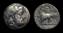 Ancient Coins - SELEUKID KINGDOM, Seleukos I, c. 312-280 BC. AR Drachm (3.54g).