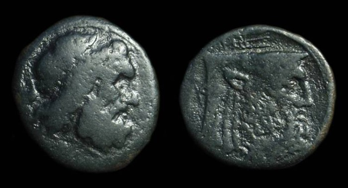 Ancient Coins - AKARNANIA, Federal Issue. Æ 20mm (5.28g), 3rd c. BC.