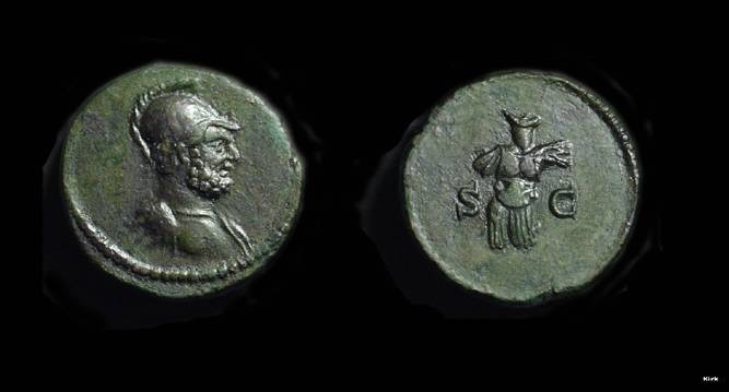 Ancient Coins - Anonymous Issue. Æ Quadrans (2.93g), c. AD 81-161.