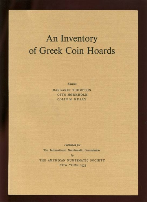 Ancient Coins - Thompson, et.al. An Inventory of Greek Coin Hoards (IGCH)