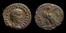Ancient Coins - EGYPT, Gallienus, AD 253-268. Billon Tetradrachm (10.35g) dated Year 9