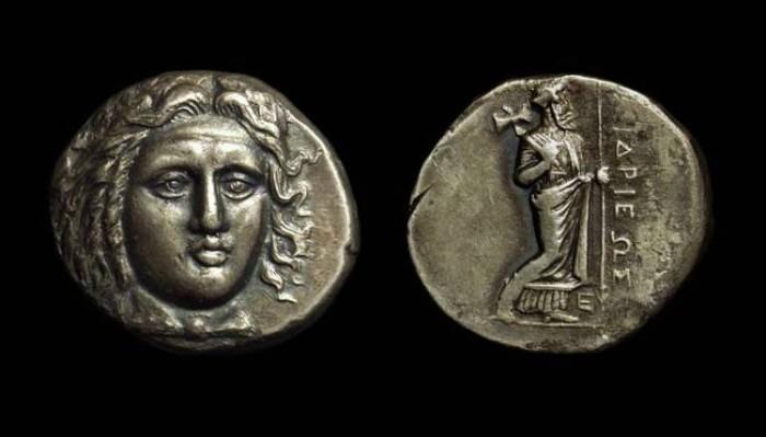 Ancient Coins - KARIA, Satraps of. Hidrieus, 351-344 BC. AR Tetradrachm (14.67g).
