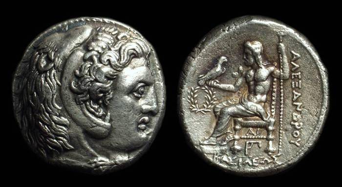 Ancient Coins - MACEDON, Kings of. Alexander the Great, 336-323 BC. AR Tetradrachm (16.81g). Susa mint.