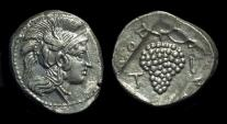 Ancient Coins - CILICIA, Soloi. AR Stater (10.07g), c. 400-350 BC.