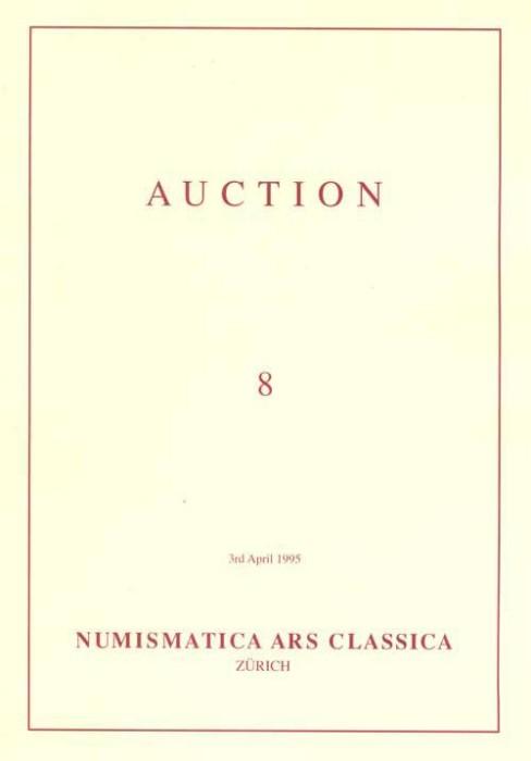 Ancient Coins - NAC. Numismatica Ars Classica (Zurich) Auction 8, 3 April 1995