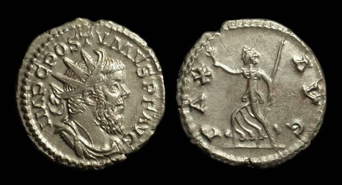 Ancient Coins - POSTUMUS, AD 260-269. AR Antoninianus (3.36g).
