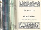 Ancient Coins - Freeman & Sear.   Complete set of 21 Auction Catalogs (1995-2013).