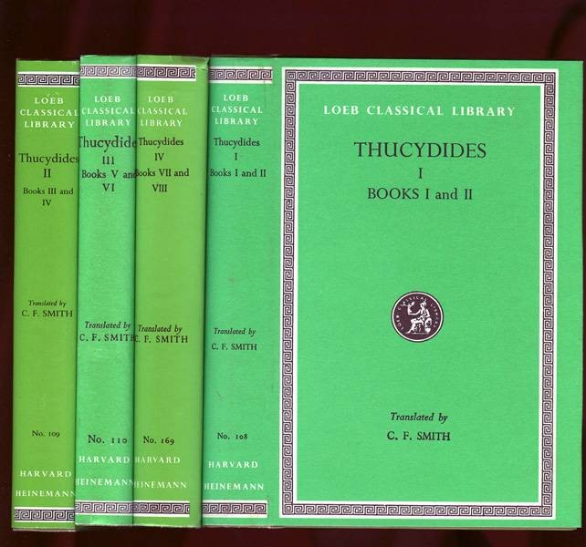 Ancient Coins - Thucydides: History of the Peloponnesian War.  Loeb edition.