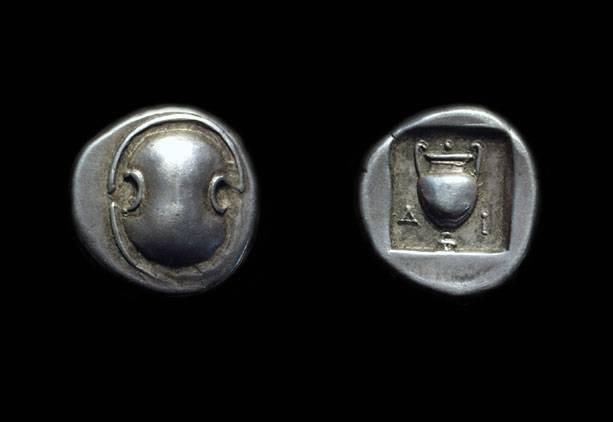 Ancient Coins - BOEOTIA, Federal Coinage, c. 304-294 BC. AR Drachm (5.82g).