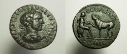 Ancient Coins - Rare Severus Alexander. Parium, Mysia Æ 21.  Asklepios as a Veterinarian!
