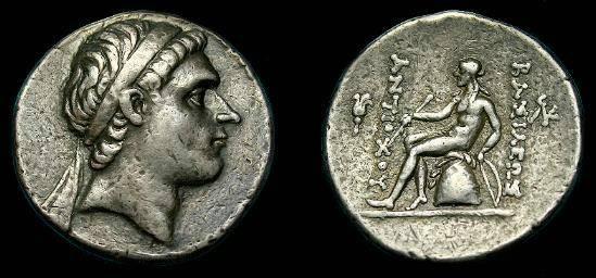 Ancient Coins - Seleukid.  Antiochos II.  Ar tetradrachm.  261-246 BC.
