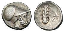 Ancient Coins - LUCANIA METAPONTION AR NOMOS