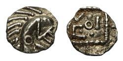 Ancient Coins - Saxon Primary Anglo-Saxon Ar Sceatta