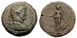Ancient Coins - Hadrian Ar Drachm. Alexandria Mint. Year 14