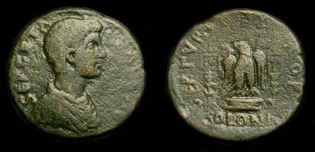 Ancient Coins - Geta.  Phoenicia, Tyre.  Ae 27.  209-212 AD.  Scarce.