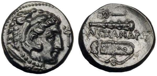 Ancient Coins - ALEXANDER III THE GREAT AE 18