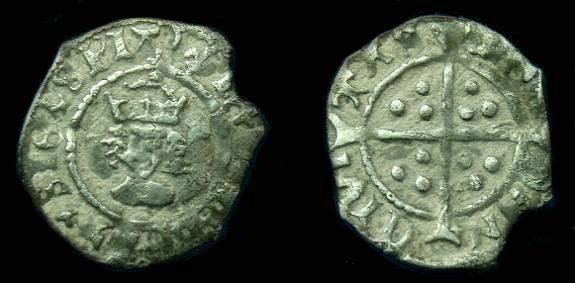 Ancient Coins - HENRY VIII AR HALFPENNY