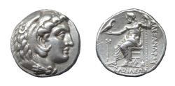 Ancient Coins - Alexander III the Great. Ar Tetradrachm. Arados Mint