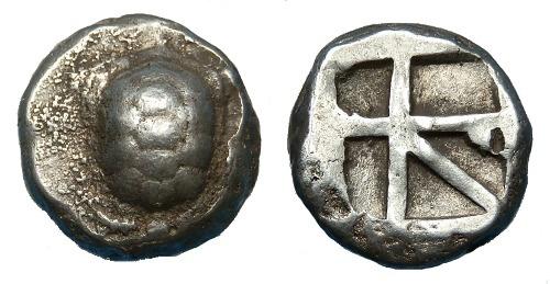 Ancient Coins - ATTICA AEGINA AR STATER