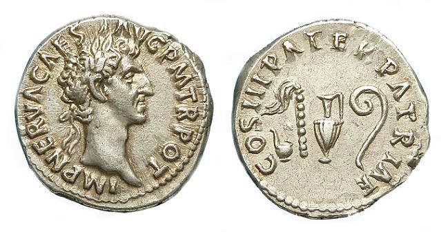 Ancient Coins - NERVA AR DENARIUS