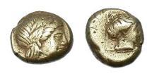 Ancient Coins - LEBOS MYTILENE EL HEKTE