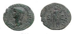 Ancient Coins - Claudius.  Ae As.