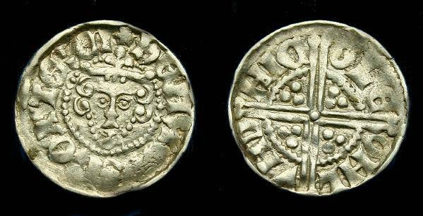 Ancient Coins - Henry III. Ar longcross penny.  1247-1272.  Rare 'TERCI' early type.  Superb coin.