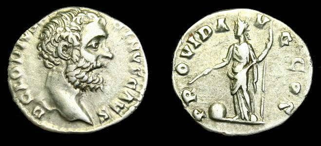 Ancient Coins - Clodius Albinus.  Ar denarius.  193-195 AD.  Scarce.