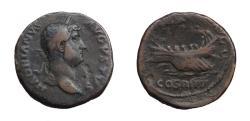 Ancient Coins - Hadrian.  Ae As