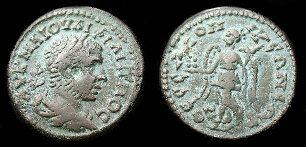 Ancient Coins - Philip I.  Ae 24.  Macedon.  Thessalonica.  244-249 AD.  Super detail.