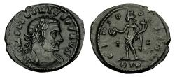 Ancient Coins - Licinius I Ae Follis. Trier Mint. EX BOURTON ON THE WATER HOARD