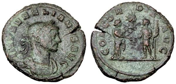 Ancient Coins - AURELIAN AE AS