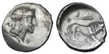 Ancient Coins - LUCANIA VELIA AR NOMOS