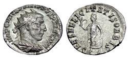 Ancient Coins - Philip I Ar Antoninianus. Antioch Mint
