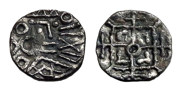Ancient Coins - Saxon Early Period Ar Sceat