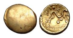 Ancient Coins - Gallo-Belgic. Ambiani Au Stater