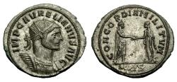 Ancient Coins - Aurelian Bi Antoninianus. Siscia Mint. Super Detail
