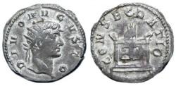 Ancient Coins - SCARCE DIVUS AUGUSTUS AR ANTONINIANUS UNDER TRAJAN DECIUS