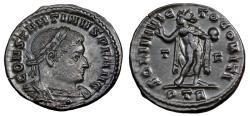 Ancient Coins - Constantine I Ae Follis. Trier Mint. EX BOURTON ON THE WATER HOARD