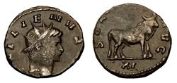 Ancient Coins - Gallienus Ae Antoninianus. Rome Mint