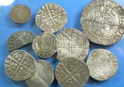 Ancient Coins - Mixed group of English silver hammered coins.  Henry III to Commonwealth.
