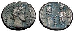 Ancient Coins - Commodus Bi Tetradrachm. Alexandria Mint. Year 24