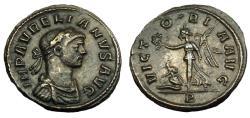 Ancient Coins - AURELIAN AE DENARIUS ROMA MINT