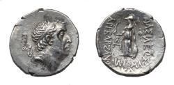 Ancient Coins - Cappadocia. Ariobarzanes I Ar Drachm. Mint A Eusebia. Super Portrait