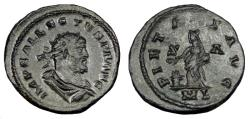 Ancient Coins - ALLECTUS AE ANTONINIANUS. LONDON MINT. SCARCE BUST TYPE