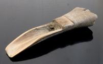 Ancient Coins - JACOBEAN CARVED BONE FID
