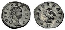Ancient Coins - DIVO CARUS AE ANTONINIANUS. LUGDUNUM MINT