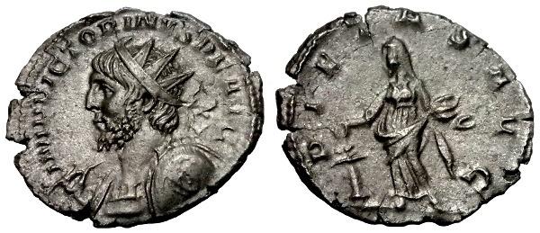 Ancient Coins - VERY RARE VICTORINUS AE ANTONINIANUS